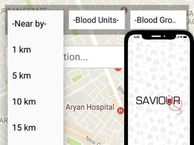 Saviour - Connecting Near by blood donor